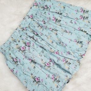Denim & Supply floral skirt